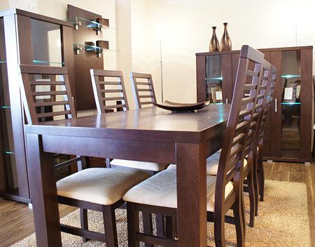 Milano stół do salonu kolor dębowy