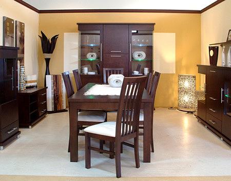 Milano stół do salonu okleina dębowa