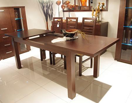 Milano stół rozkładany dębowa okleina