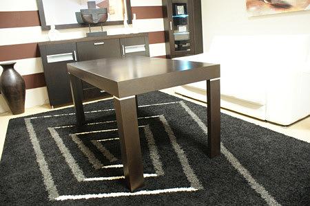 monaco stół ze wstawkami ozdobnymi z metalu