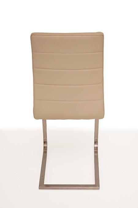 Nuvo nowoczesne krzesło metalowe do jadalni