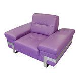 Olivier nowoczesny fotel skórzany