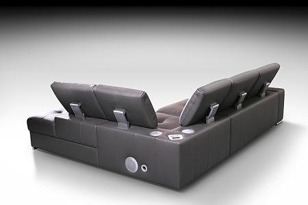 onex sofa narożnik z systemem audio