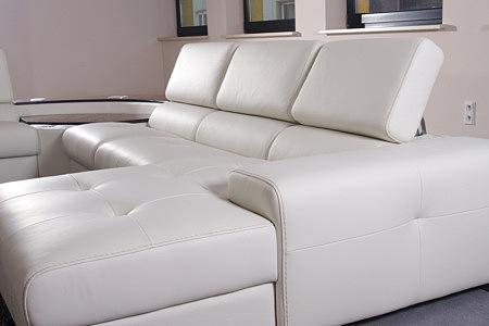 oxford biały wypoczynek skórzany