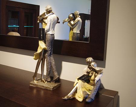 ozdobna figurka tancerze kobieta i mężczyzna