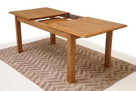 Palermo nowoczesny stół dębowy rozkładany z litego drewna