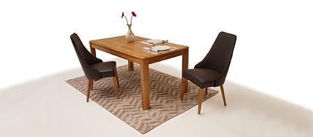 Palermo stół do jadalni z litego drewna dębowego