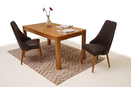 Palermo stół do jadalni z litego drewna dębowego rozkładany