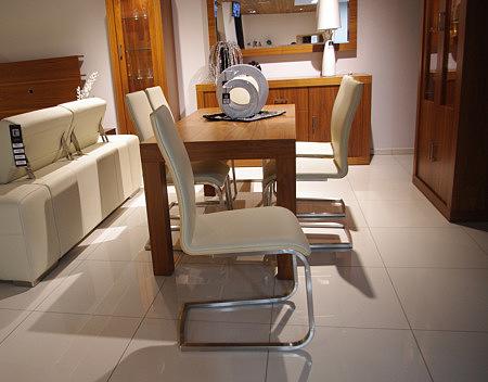 Paola krzesło na metalowych płozach