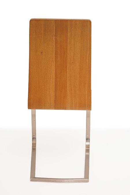 Paola oparcie krzesła orzech amerykański stelaż metalowy