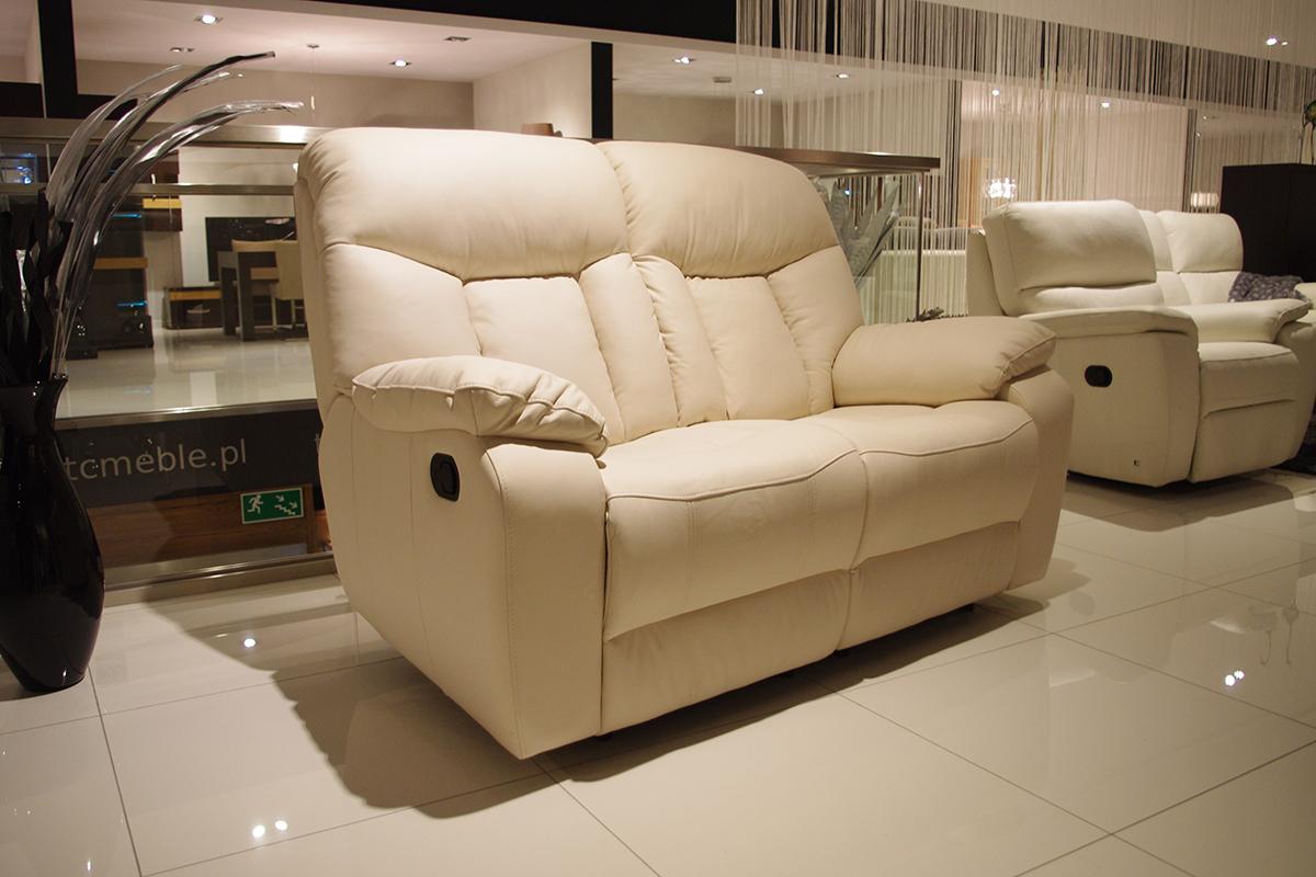 premium sofa skórzana dwuosobowa