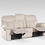 Premium sofa trzyosobowa z funkcją relax