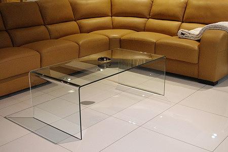 Primaa prosta nowoczesna ława szklana