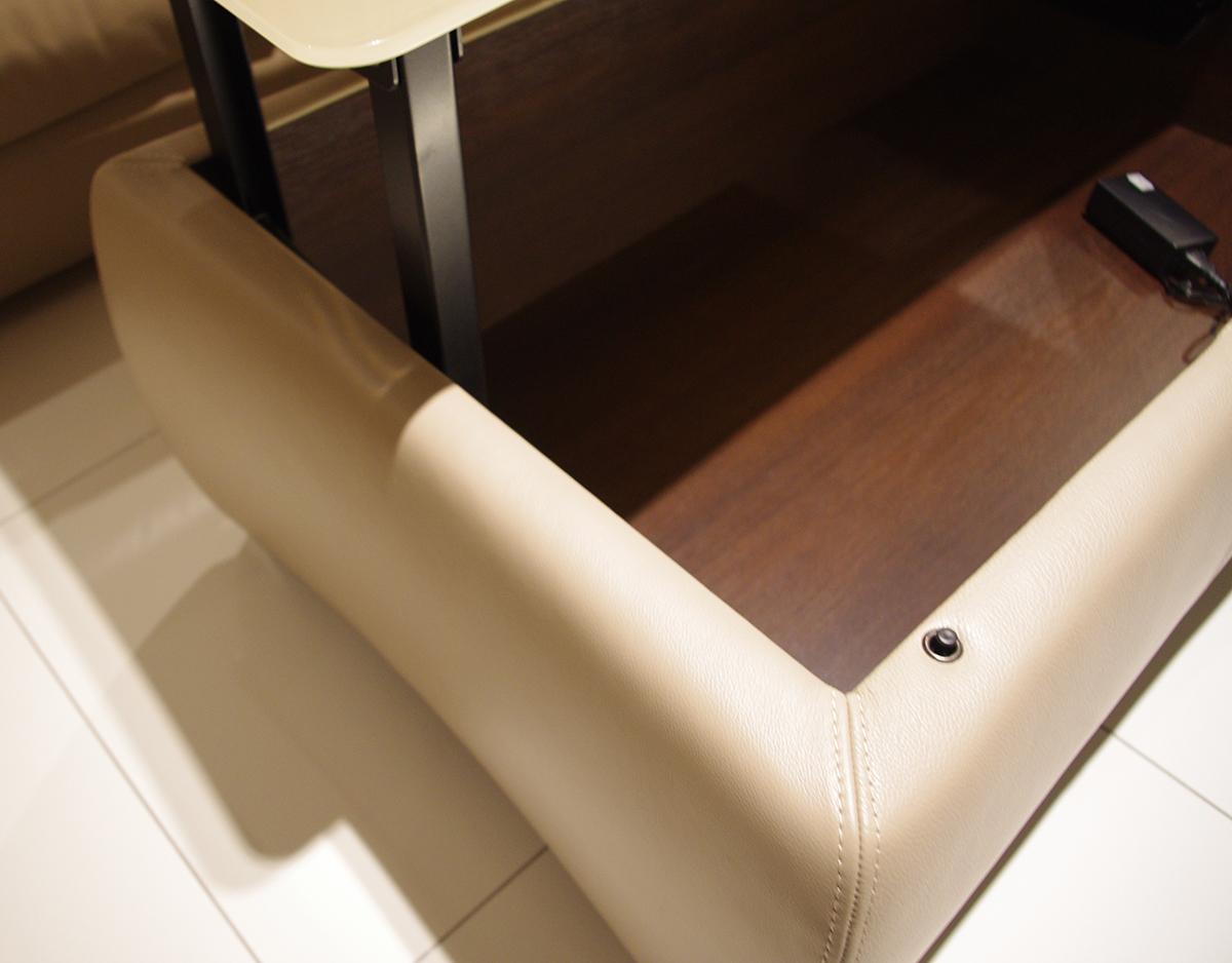 profilowana detale ławy do salonu