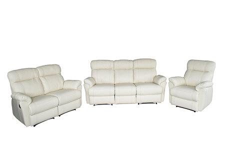 relax3 komplet białych mebli wypoczynkowych