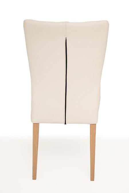 Roums detal wykonanie oparcia krzesła do nowoczesnego salonu