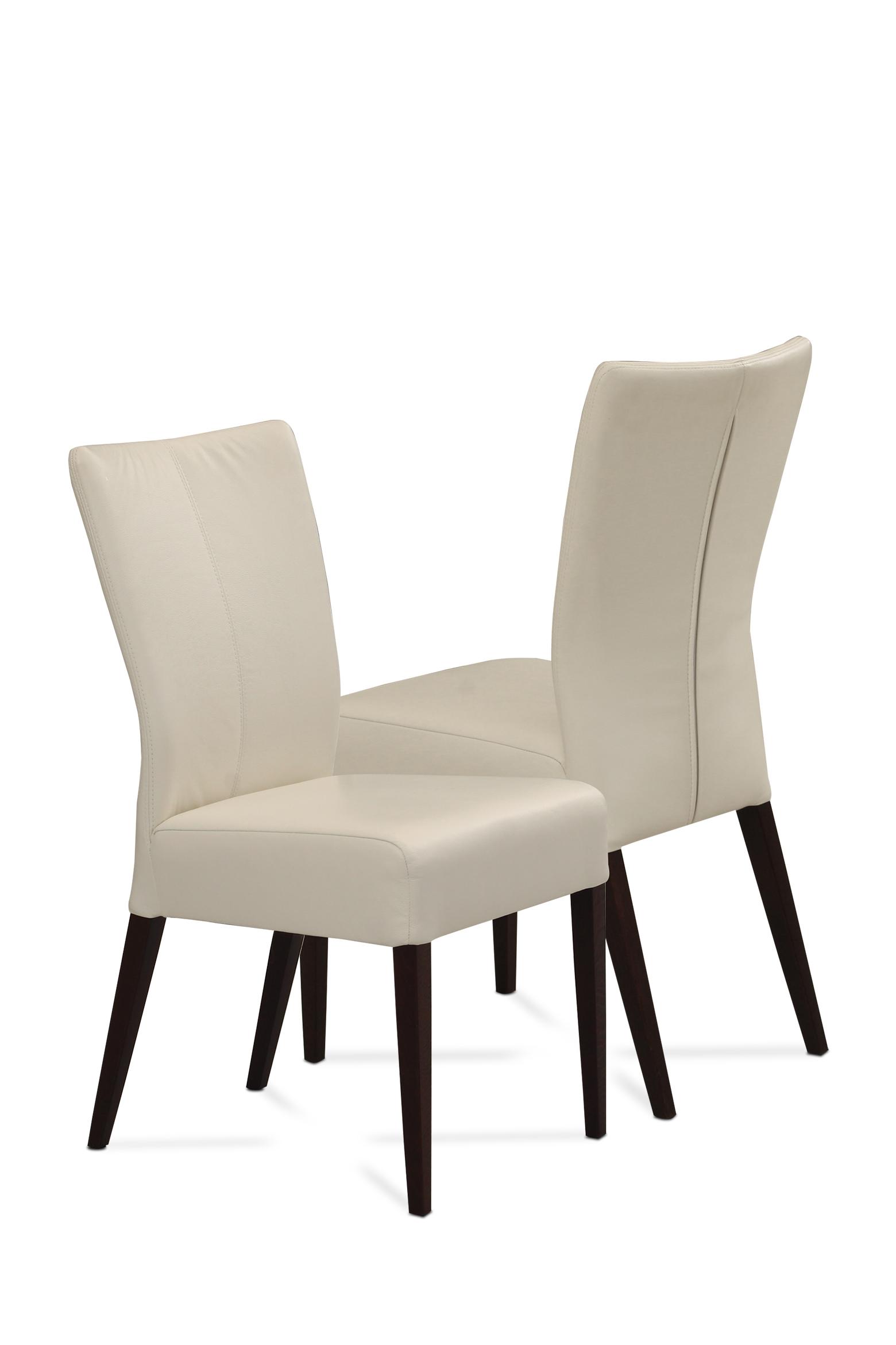 Romus Krzesło Z Drewna Dębowego Lub Bukowego Tapicerowane W Skórze