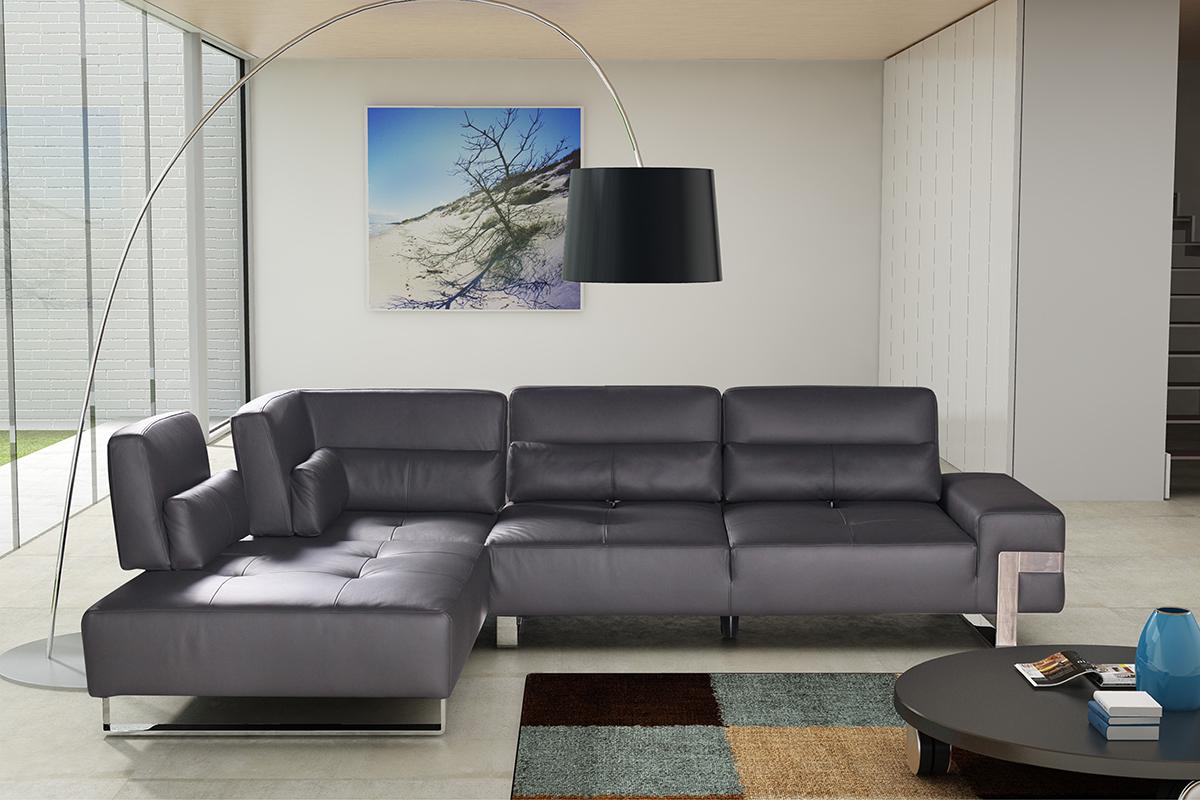 royal nowoczesny wypoczynek skórzany do salonu