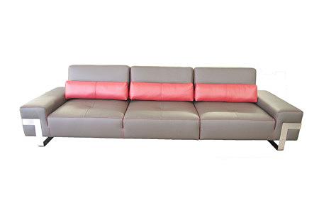 royal sofa nowoczesna szaro różowa