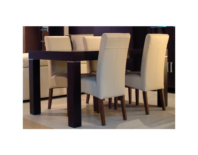 Sandra Krzesło Obite W Całości Materiałem Skóra Tkanina