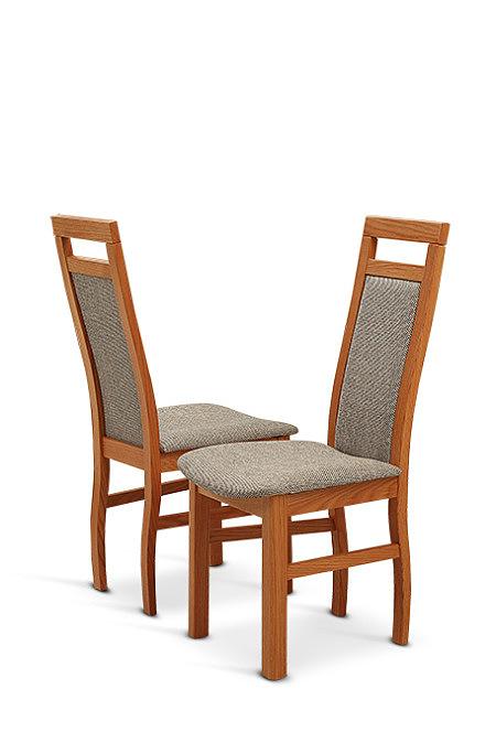 Sara krzesła z tapicerowanym oparciem