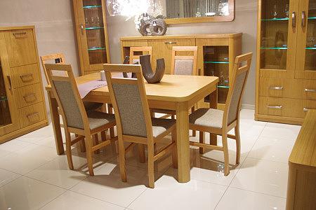 sara solidny bukowy stół do salonu