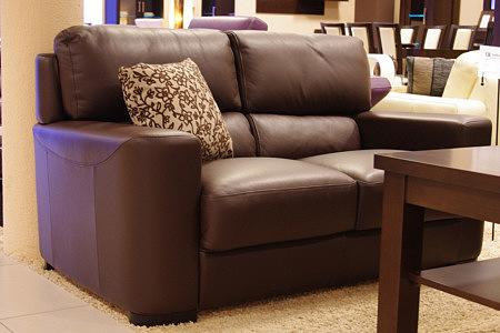 sara1 sofa skórzana dwuosobowa