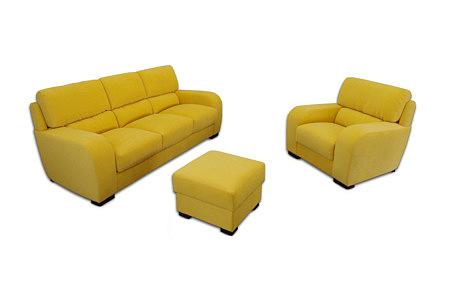 sara2 komplet wypoczynkowy sofa fotel pufa