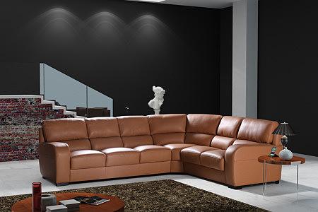 sara2 nowoczesny wypoczynek skórzany nowoczesna sofa narożnik