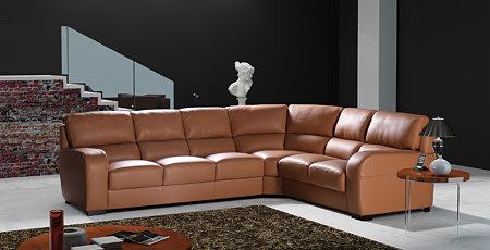 Sara2 nowoczesny wypoczynek skórzany sofa narożnik