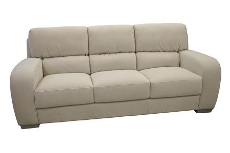 sara2 sofa trzyosobowa skórzana siedziska pikowane
