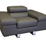 saturno duży masywny fotel skórzany do salonu