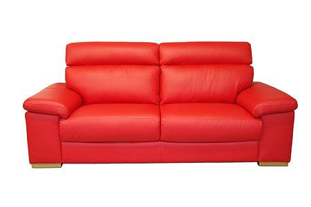 Savoy czerwona sofa nowoczesna wypoczynek