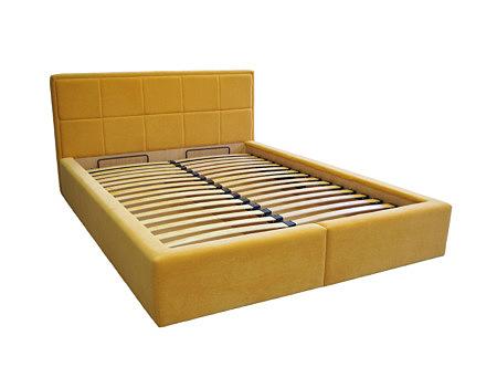 Siesta łóżko do sypialni pomarańczowe