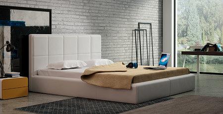 Siesta nowoczesne łóżko do sypialni z zagłówkiem