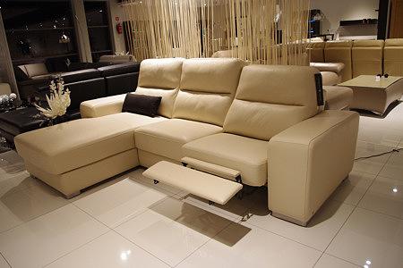 Sofa elektryczna z funkcją relax