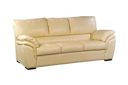 Soft meble nowoczesne sofa skórzana do salonu