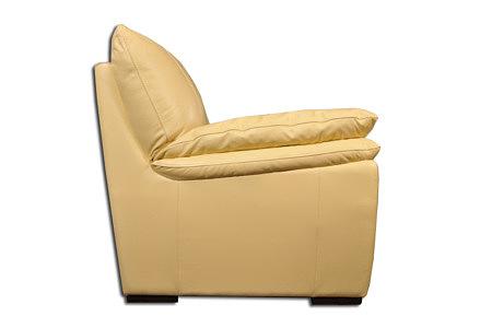 Soft sofa skórzana stojąca bokiem