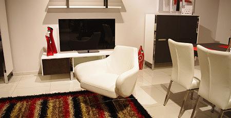 speed obrotowy fotel skórzany do salonu na metalowej nodze
