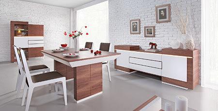 stół nowoczesny future line kolor biały