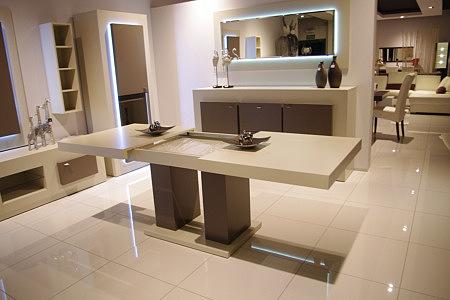 tau2 biały stół z możliwością rozkładania