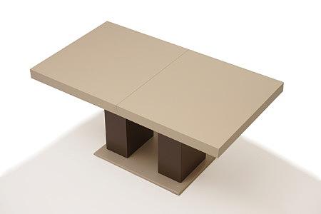 Tau2 masywny stół na jednej nodze idealny do nowoczesnej jadalni