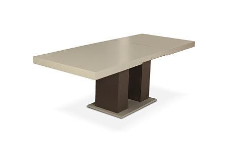 Tau2 masywny stół na nodze w kształcie kwadratu