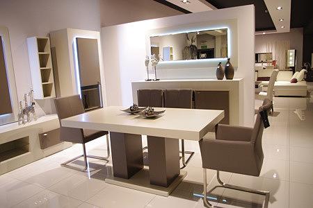 tau2 stół lakierowany biały