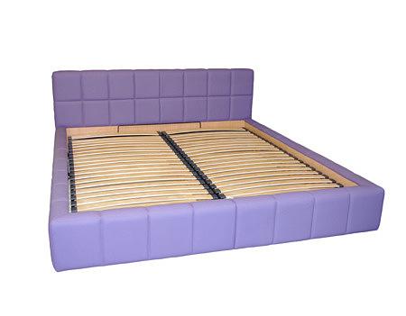 torino łóżko do sypilani fioletowa tapicerka