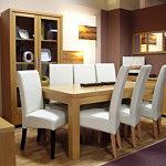 Tosca stół do salonu dębowy okleina