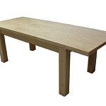 Tosca stół rozkładany dębowy okleinowany