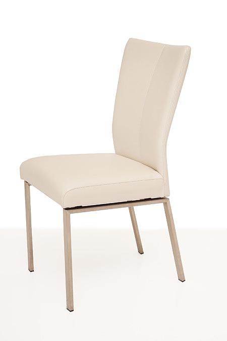Trinity białe krzesło metalowe do nowoczesnej jadalni salonu