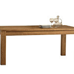 typ41 stół dębowy ciemny dąb lite drewno