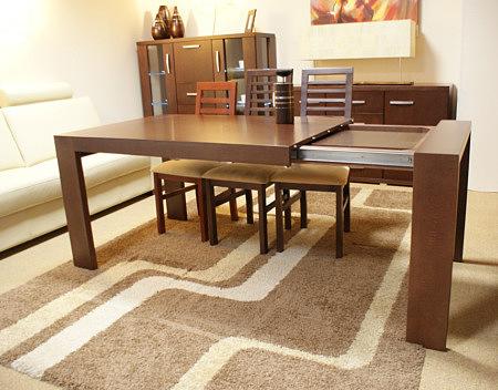 Valencia rozkładany stół do salonu dębowy